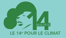Logo 14ème pour le climat