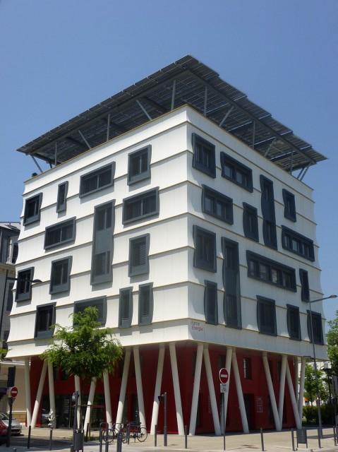 Immeuble à énergie positive à Grenoble