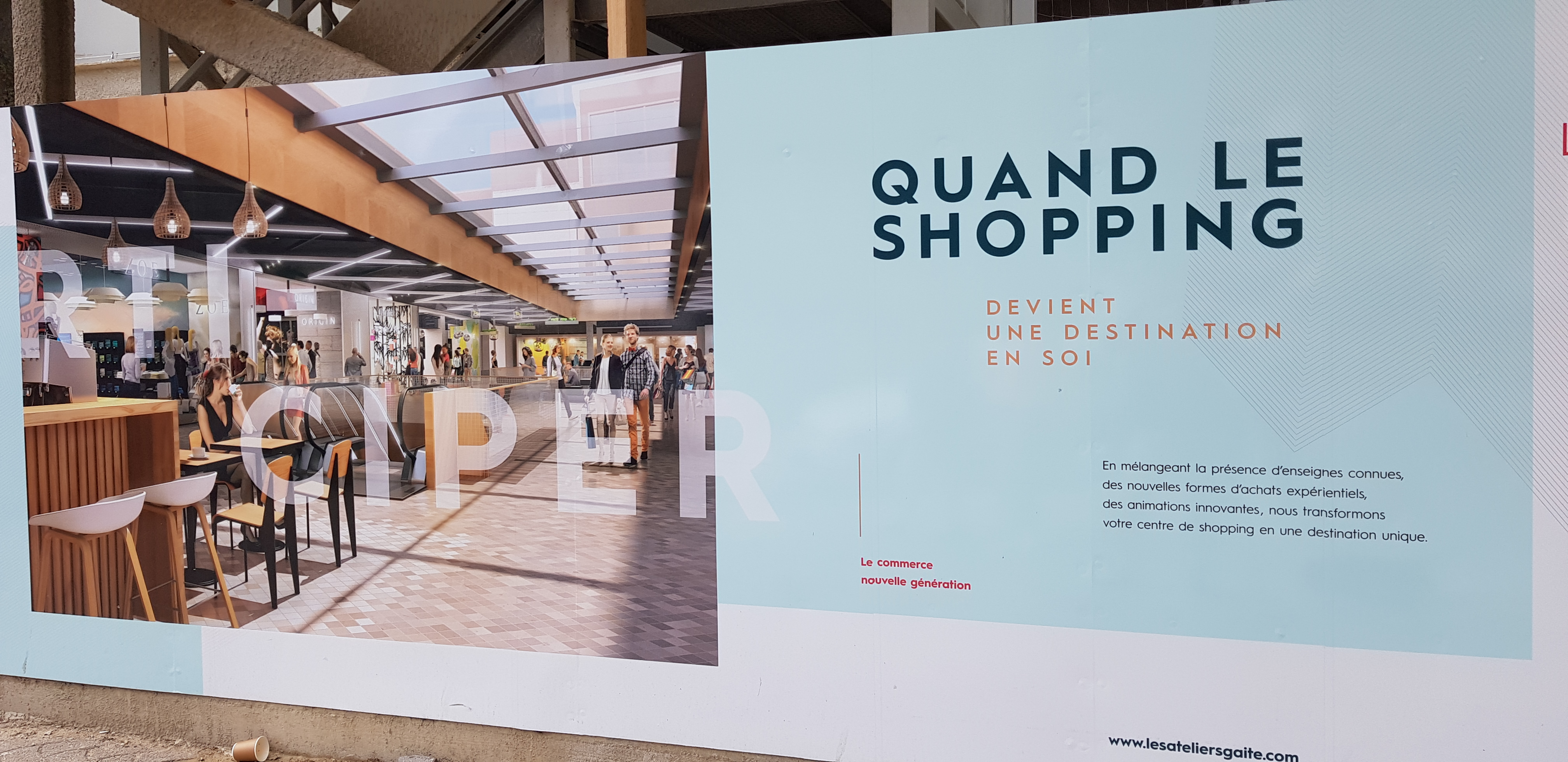 Affiche Shopping
