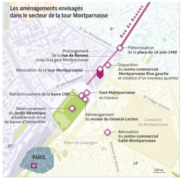 Carte réalisée par le journal le Monde, dans son édition du 9 mars 2018